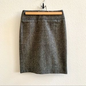 Banana Republic Tweed Pencil Skirt Sz 0